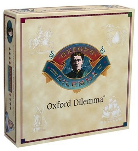 Oxford Dilemma Trivia Game, trivia game By Vintage Sports Cards by