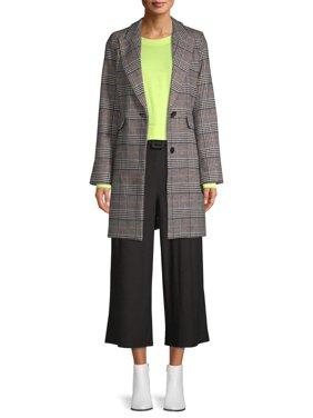 Kendall + Kylie Women's Printed Coat