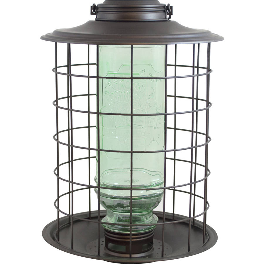 More Birds 18 1.5 Lb Burnt Penny Vintage Caged SongBirdfeeder by Classic Brands LLC