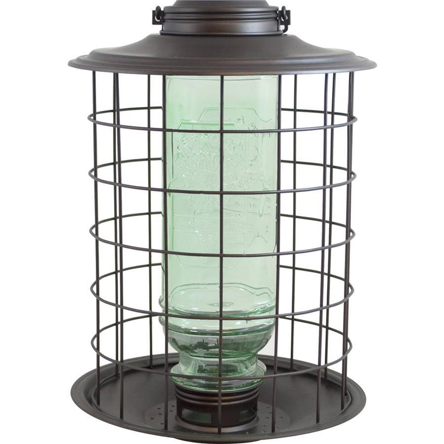 More Birds 18 1.5 Lb Burnt Penny Vintage Caged Songbird Feeder