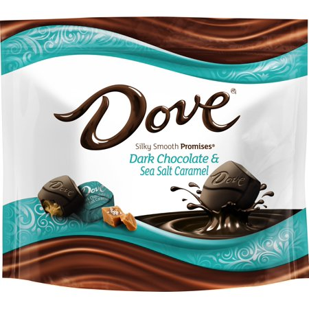 Dove Promises, Sea Salt And Caramel Dark Chocolate Candy, 7.61 Oz. (Dark Chocolate Dove)