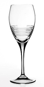 Break-Line Collection Clear Crystal Cordial Glasses (Set of 6) by Creative Gifts