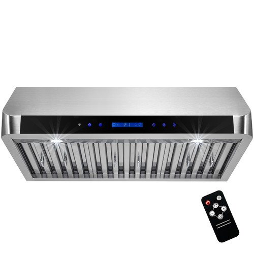 "Image of AKDY 30"" 500 CFM Convertible Under Cabinet Range Hood"