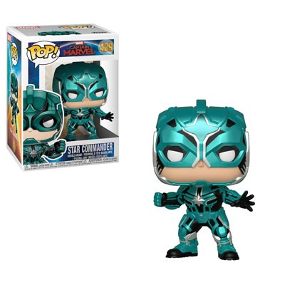 Funko POP! Marvel: Captain Marvel - Star Commander