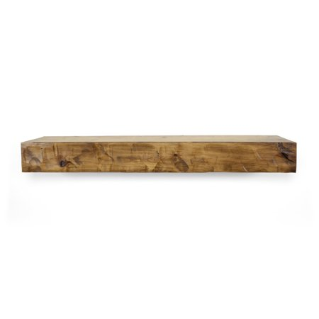 Rough Hewn 36 in. Aged Oak Mantel