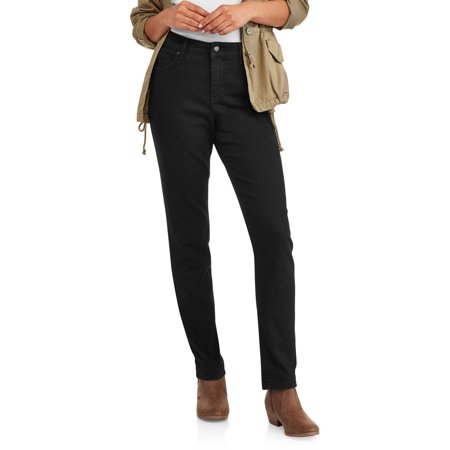 Bandolino Womens Mandie Straight 5-Pocket Jeans, Available in Average Length and Short Length