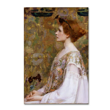- Trademark Fine Art 'Woman With Red Hair' Canvas Art by Albert Herter