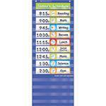 Teachers Friend TF-5405 Schedule Cards Pocket Chart Add Ons (Pocket Chart Daily Schedule Black)