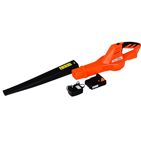 Costway 20V 2.0Ah Cordless Leaf Blower Sweeper 130 MPH Blower Battery & Charger Included - image 10 of 10