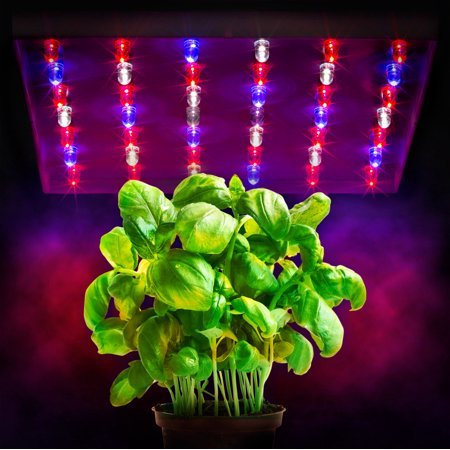 xen lux 20 watt led grow lights hydroponics hex band 6 band light panel red