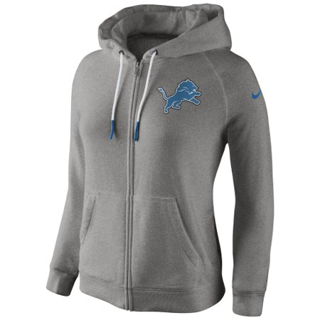 official photos 5be10 3d459 Detroit Lions Women's Stadium Rally Full Zip Hoodie - Gray