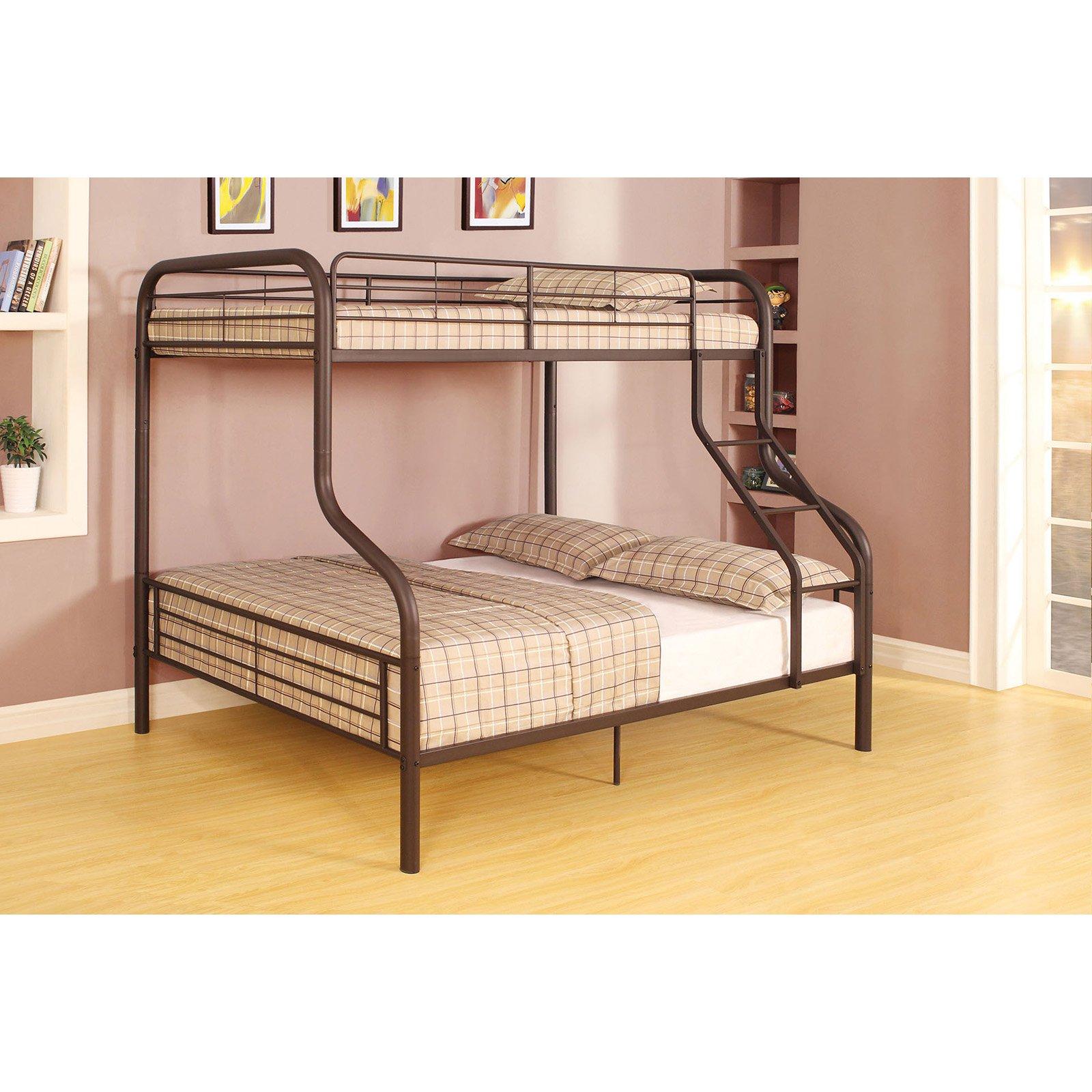 Cairo Twin/Full Bunk Bed, Sandy Black, Box 2 of 2