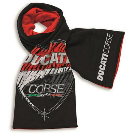 Ducati Corse Sticker - Ducati Corse Sketch Scarf Black Red 987694981