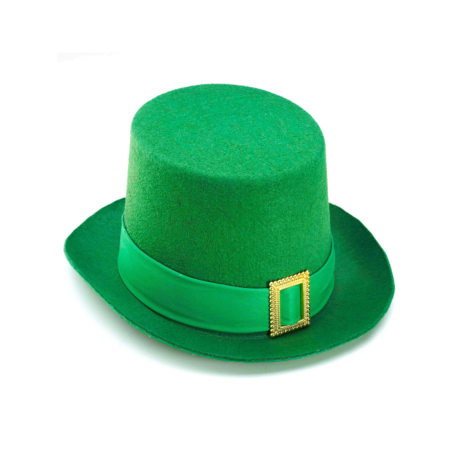 St. Pat's Green Top Hat with Buckle