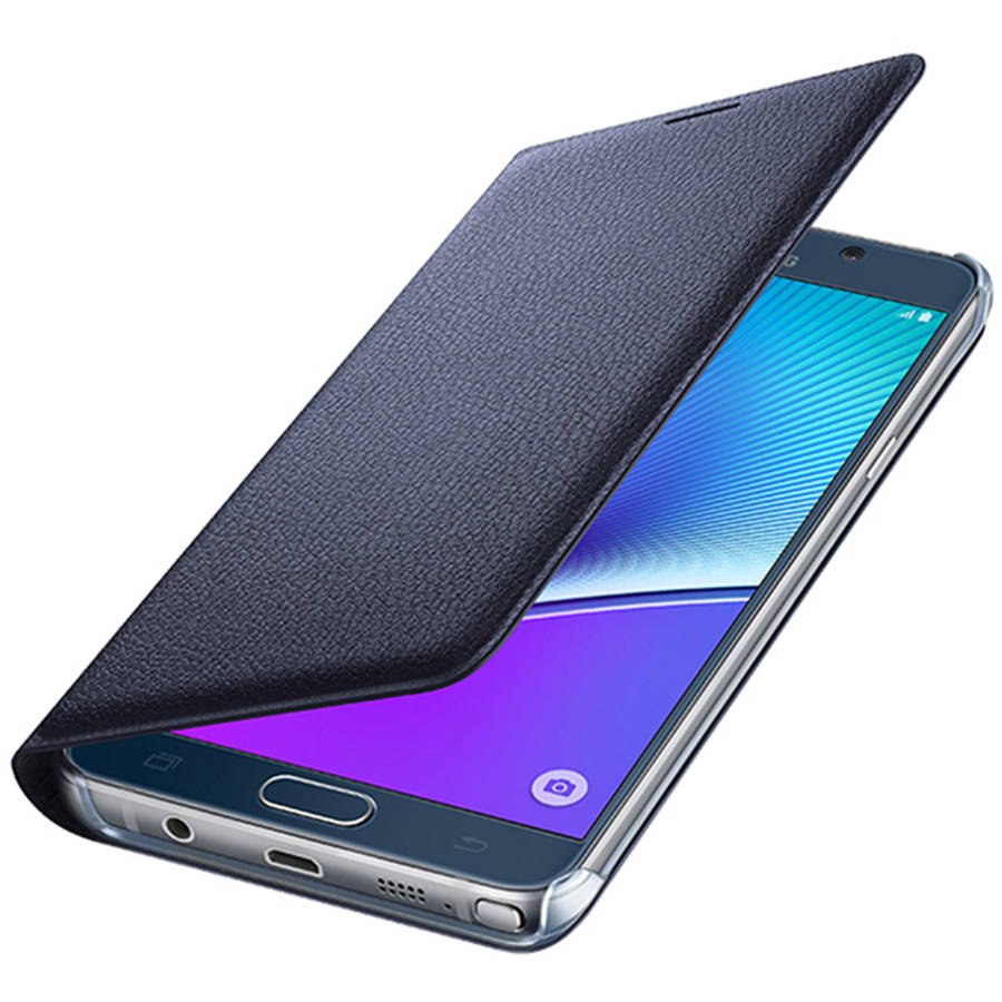 Samsung Wallet Flip Cover for Samsung Galaxy Note 5