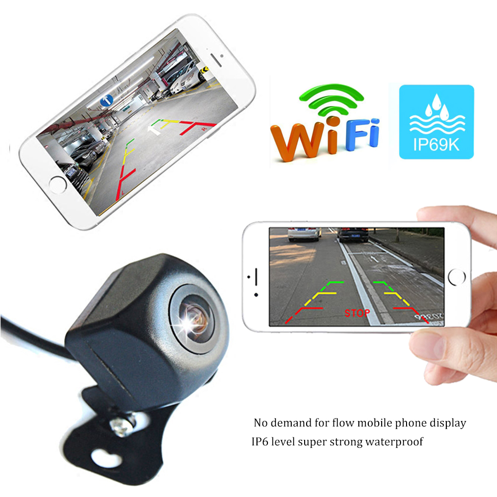 Rampage Exterior Accessories Portable Wi-Fi Backup Camera 7710