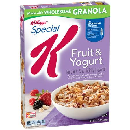 Kellogg's Special K Breakfast Cereal, Fruit & Yogurt, 12.5 Oz