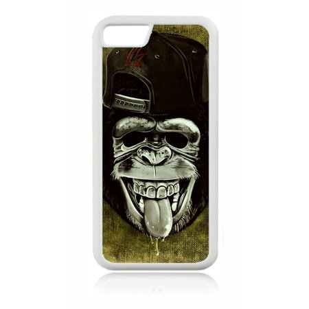 Punk Monkey on Grunge Print Design White Rubber Case for the Apple iPhone 6 / iPhone 6s - iPhone 6 Accessories - iPhone 6s Accessories Case Dimensions (case length:) iphone 6s 5.5 inch case - iphone 6 5.5 inch case ; Case Dimensions (for iPhone with the following size screen:) iphone 6 4.7 case - iphone 6s 4.7 case ; This Apple iPhone 6 Case -  iPhone 6s is made of a durable rubber. TPU slim iPhone 6 Thin Case - iPhone 6s Thin Phone Case ; White appleiphone6 case - 6s iphone case ; Bumper style iphone six case - iphone six s case ; These apple iphone 6 accessories - apple iphone 6s accessories feature a vibrant and everlasting flat printed image design. Beautiful, protective, essential and fun apple iphone 6 case - iphone 6s iphone case ; iphone 6s kids case - apple iphone 6 kids case - iphone 6 case for girls - iphone 6s case for girls - iphone 6 case for boys - iphone 6s kids case boys - iphone six case for teens - iphone 6s accessories for women and men