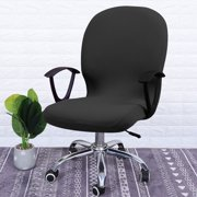 Stretchy Office Chair Cover Protector , TSV Computer Office Chair Covers Washable Universal Boss Chair Covers Modern Simplism Style High Back Chair Cushion Slipcover