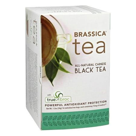 Brassica - All Natural Chinese Black Tea with truebroc - 16 Tea