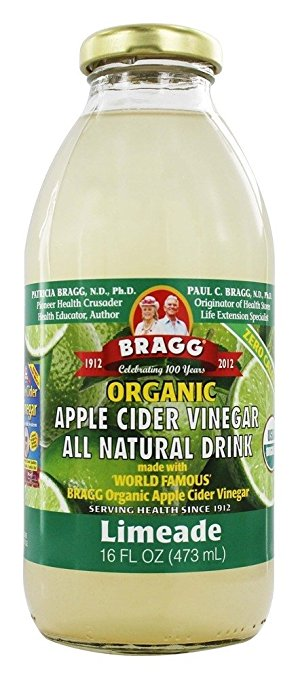 Bragg Organic Apple Cider Vinegar All Natural Drink Limeade 16 oz.(pack of 2) by Bragg
