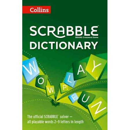 Collins Scrabble Dictionary: The official Scrabble solver - all playable words 2-9 letters in length (Paperback) - Halloween In Fort Collins 2017