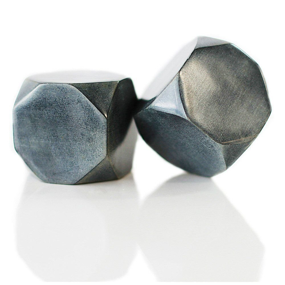 Soapstone Truncated Cubes - Set of 2, Shotters Wine Sparq...