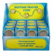 Prayer Cube-Bedtime Prayer Cubes W/Display & Gift Box (Pack of 24)