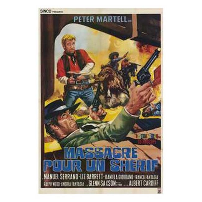 Posterazzi MOV209894 The Long Day of the Massacre Movie Poster - 11 x 17 in. - image 1 of 1