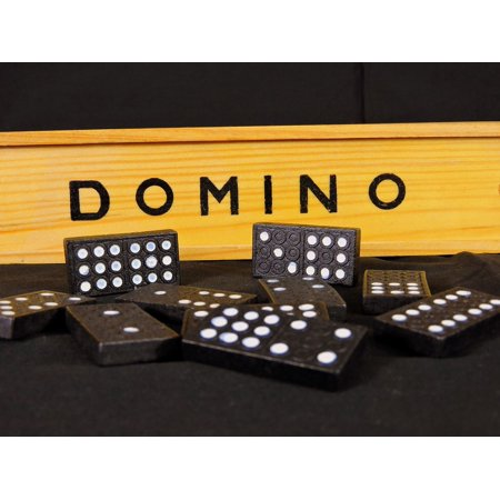 Peel-n-Stick Poster of Entertain Fun Domino Game Card Games Pastime Poster  24x16 Adhesive Sticker Poster Print