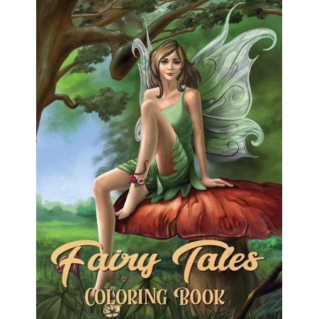 Fairy Tales Coloring Book : Adult Coloring Book Wonderful Grimm Fairy Tales, Relaxing Fantasy Scenes and Inspiration - Adult Furries