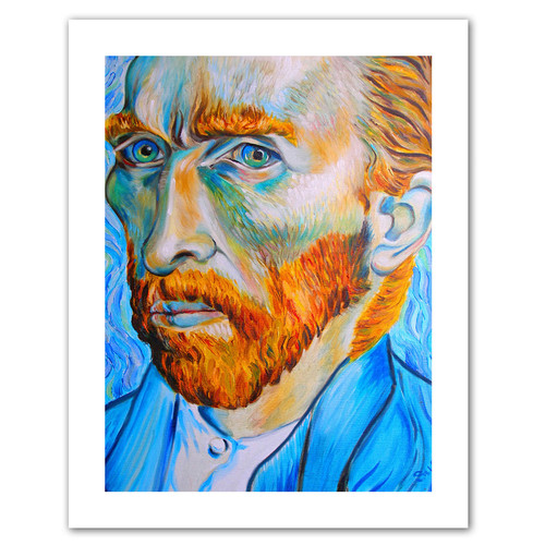ArtWall 'My Own Private Vincent van Gogh' by Susi Franco Painting Print on Canvas
