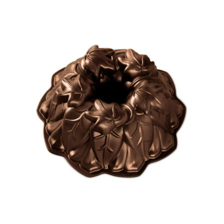 Nordic Ware Harvest Leaves Bundt® , Cast Aluminum, Lifetime Warranty, 9 cups 9.73
