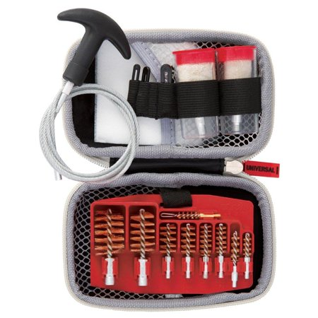 Gun Boss Universal Cable - 12 & 20 gauge, .17 - .45 caliber pull-through gun cleaning kit, COMPACT AND PORTABLE UNIVERSAL CLEANING KIT: the weather proof, zippered,.., By Real
