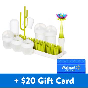 Boon Nursh Silicone Baby Bottle  + $20 Walmart eGift Card