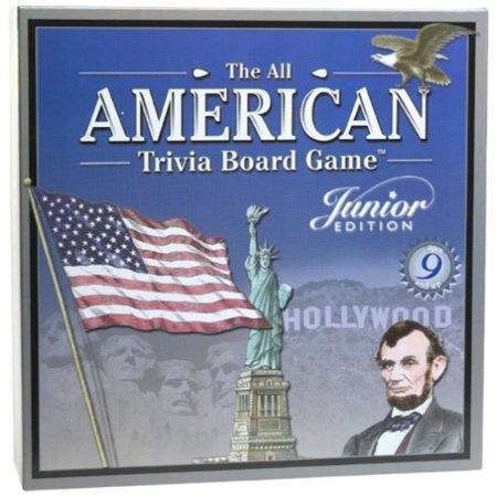 all american trivia junior edition board game by outset media](America Trivia)