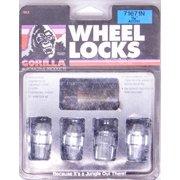 "Gorilla Chrome 7/16-20"" Thread Acorn Wheel Lock 16 pc P/N 71671N"
