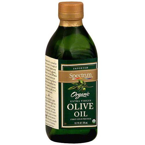 Spectrum Organic Extra Virgin Olive Oil, 12.7 oz (Pack of 6)
