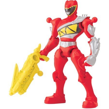 Bandai Power Rangers Mixx N Morph Dino Charge Red Ranger - Power Ranger Red