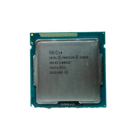 Refurbished Intel Pentium  G2030 3GHz LGA 1155/Socket H2 5 GT/s  CPU (Best Lga 1155 Cpu)