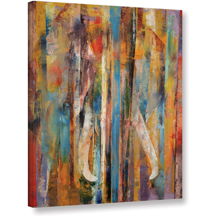 """Michael Creese """"Elephant"""" Gallery-wrapped Canvas"""