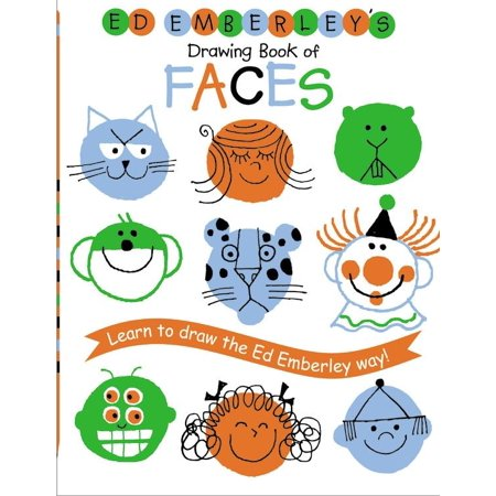 Ed Emberley's Drawing Book of Faces for $<!---->