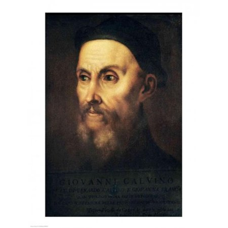 Posterazzi BALXIR80411 Portrait of John Calvin Poster Print by Titian - 18 x 24 in. - image 1 de 1