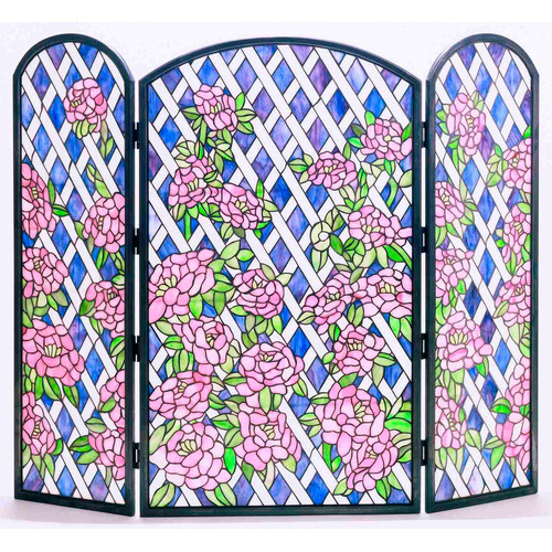 Meyda Tiffany 35745 Fireplace Screen by Meyda Tiffany