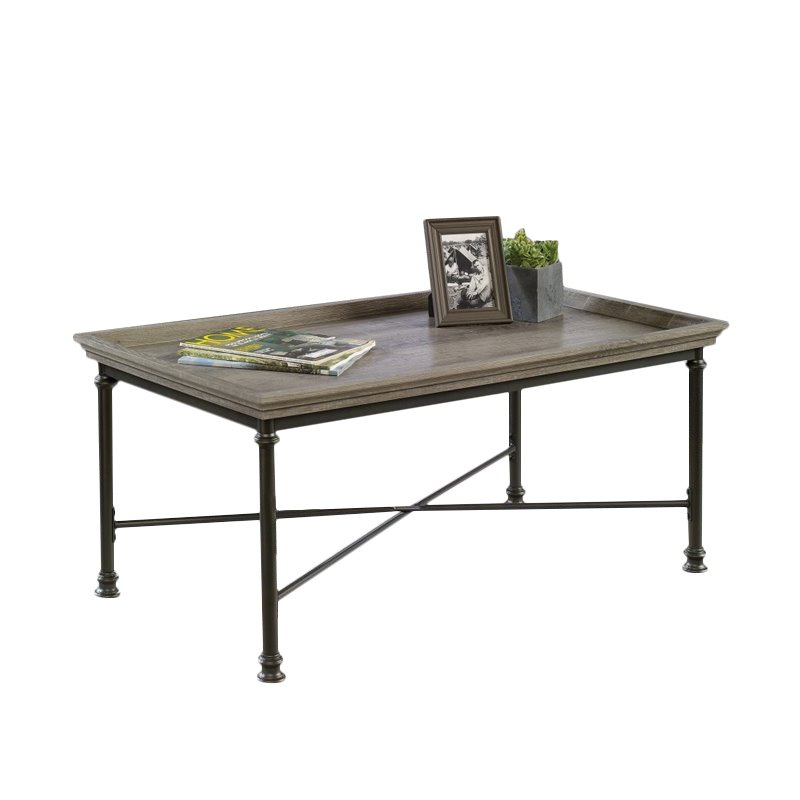 Sauder Canal Street Coffee Table in Northern Oak