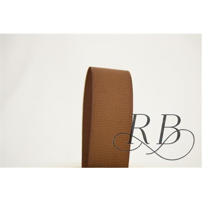 Ribbon Bazaar 3125 0.88 in. Solid Grosgrain Ribbon, Turftan - 50 Yards