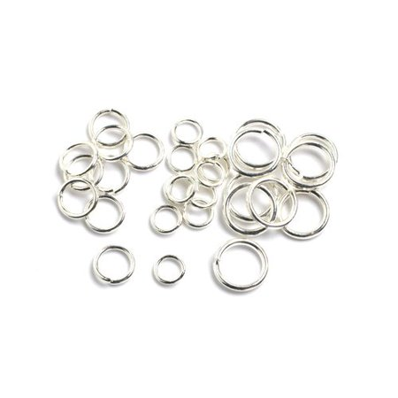 Ring Making Supplies (Cousin Silver Jump Rings, 84)