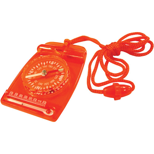 Ultimate Survival Technologies Compass Combo, Orange by Generic