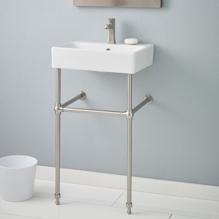 Cheviot Products Nuo 19 75 Console Bathroom Sink With Overflow