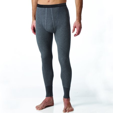 Essential's Men's Thermal Waffle Knit Long Johns